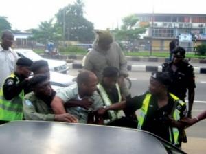Police And Army Clash Again In Lagos