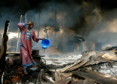 Explosions and gunfire in Maiduguri