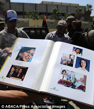 Photographs Found in Gaddafi's House Show That He Was In Love With Condolezza Rice