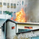 Fire Guts Building In Lagos. 52 Rendered Homeless