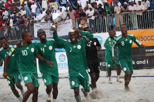 Nigeria Win Copa Lagos Beach Soccer; Beat Brazil 9-4 In Final