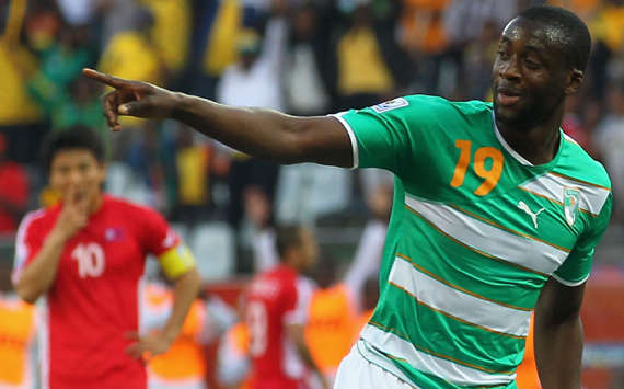 Yaya Toure Has Won the AFOTY Award Since Beating Malian Seydou Kaita to Second Position in 2011. Image: AFP.