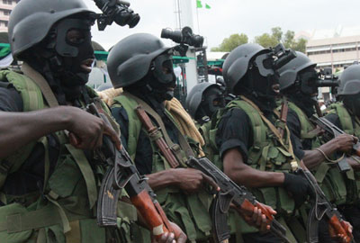 Female bomber arrested in Abuja
