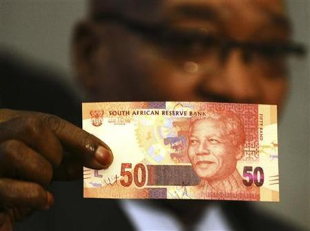 South Africa Launches Nelson Mandela Bank Notes