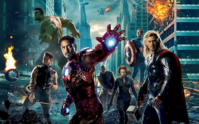 'The Avengers' smashes US box office record