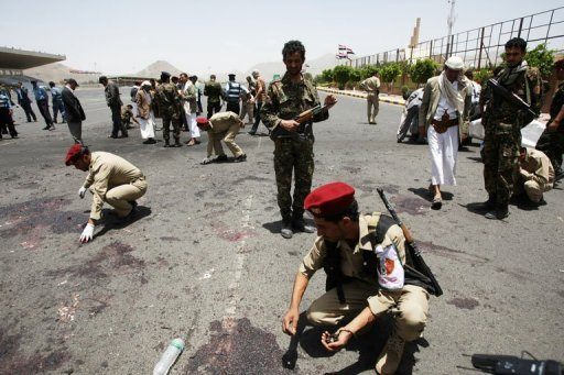 96 killed, 300 wounded as Yemen soldier turns suicide bomber