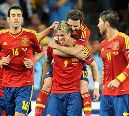 Against All Odds, Spain Beat Italy 4-0 To Win The 2012 Euro Cup