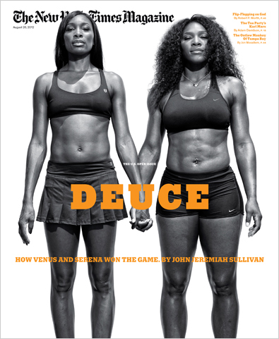 Venus And Serena Williams Cover The New York Times