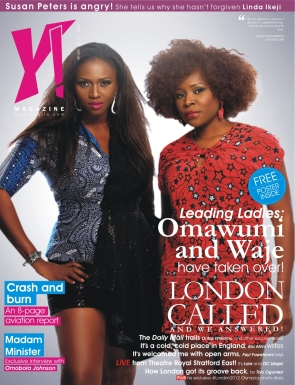 Waje and Omawumi cover new issue of Y! Magazine