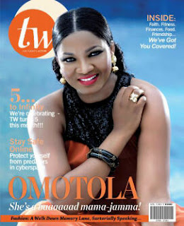 Omotola Jalade-Ekeinde Covers September Issue Of Fashion And Lifestyle Magazine, TW