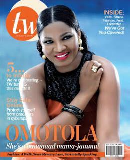 Omotola Jalade-Ekeinde Covers September Issue Of Fashion And Lifestyle Magazine, TW