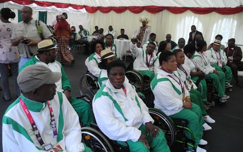 Cash Rain And National Honours As President Jonathan Hosts Victorious Paralympians In Aso Rock