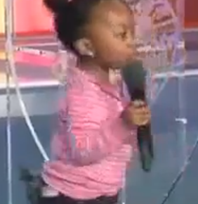 Video: The 2 Year Old Girl Who Preaches At Christ Embassy