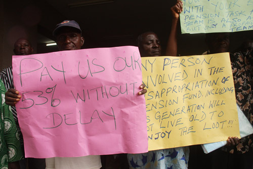 Nigerian-Pensioners-in-Protest
