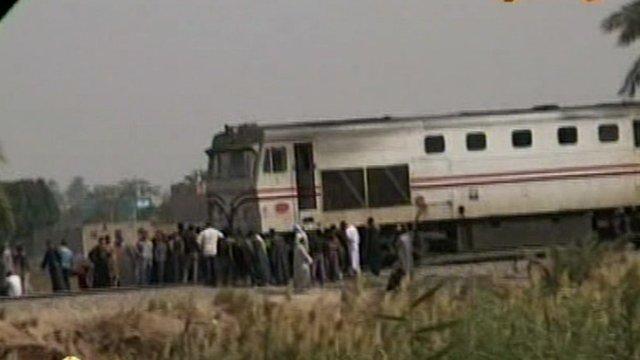 Bus Hit By Train In Egypt Killing 50 Children