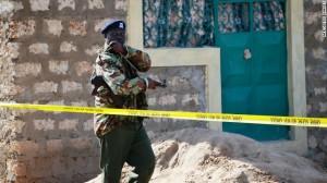 Crime Scene Of The Raid That Left 28 Dead