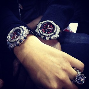 MATCHING ROLEX TIME PIECES