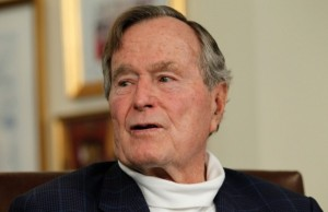 Former American President, George Bush Battling Bronchitis
