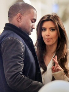 Kim Kardashian and Kanye West go shopping at Jeffrey's in NYC