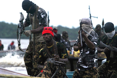 Niger Delta Militants Once Famous For Kidnapping Foreign Nationals For Ransom Or Negotiate Demands