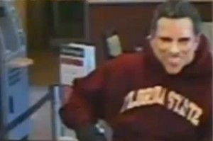 man robs bank with romney mask