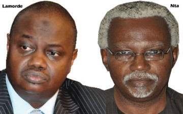 EFCC CHAIRMAN, IBRAHIM LAMORDE AND ICPC CHAIRMAN, MR. EKPO NTA