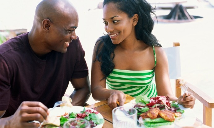 black-couple-first-date