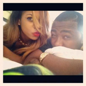 Photo: Yvonne Nwosu In Bed With Ice Prince