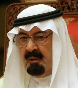Saudi Arabia's King Abdullah bin Abdel Aziz