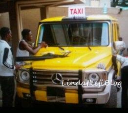 timaya turns gwagon to taxi lindaikejoblog