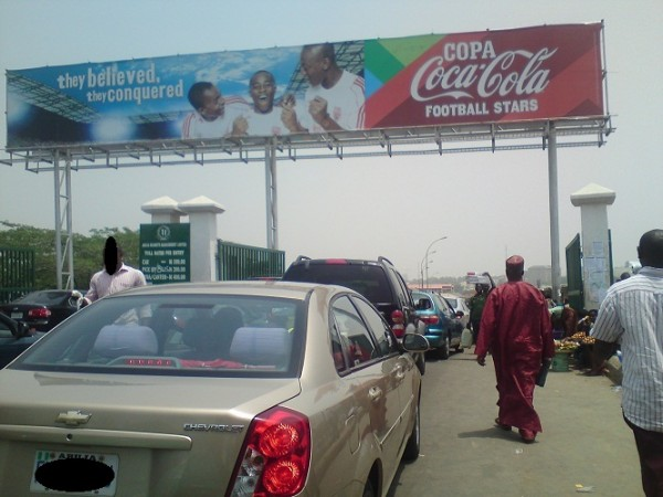 ENTRANCE TO WUSE MARKET ABUJA