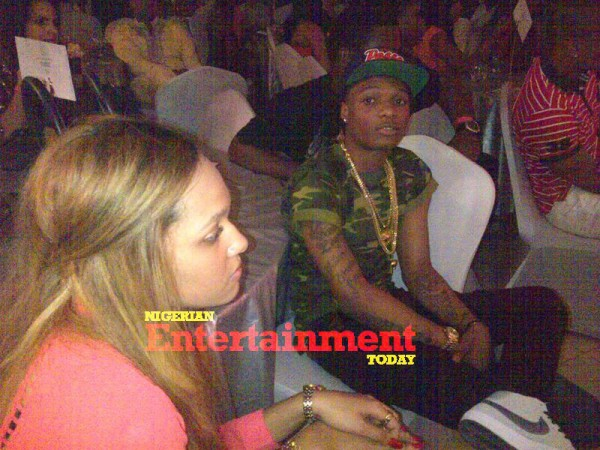 WIZKID AND TANI AT BANKY W's CONCERT