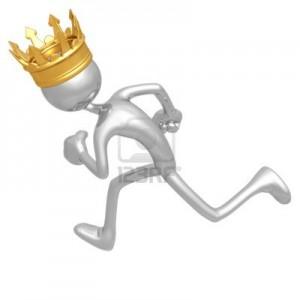 king-running