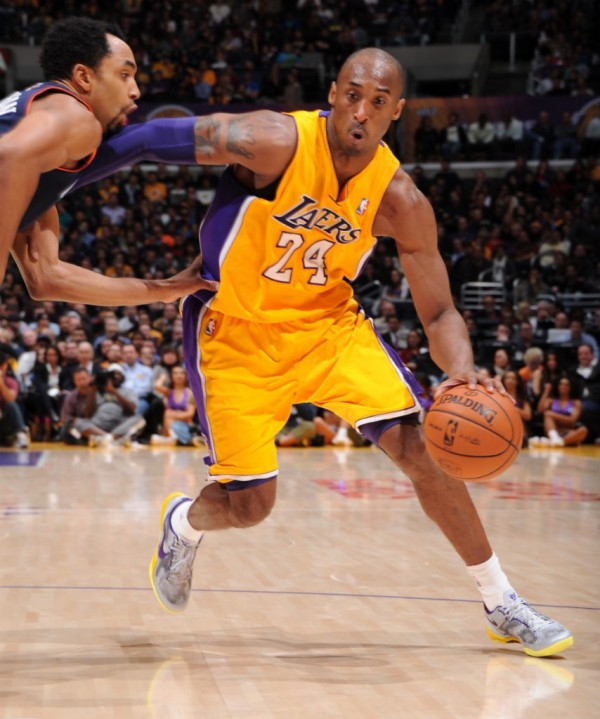 Kobe Bryant in action for Lakers