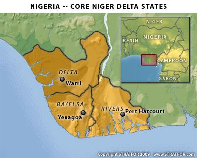 Niger-Delta-map