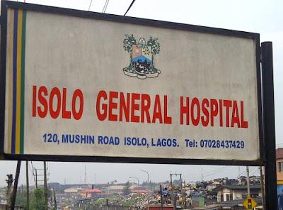 isolo general hospital mortuary shut down