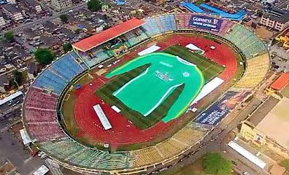 AERIAL VIEW OF WORLD'S LARGEST JERSEY