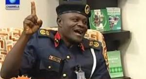 Lagos State Corps Commandant, of the NSCDC Mr Obafaiye Shem