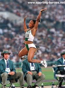 Ajunwa at the Atlanta Olympics.