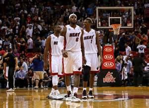 Dwayne Wade, Chris Bosh, LeBron 'King' James.