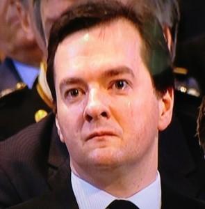 George Osbourne weeps