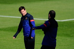 Messi and Pinto