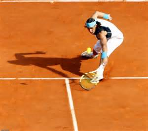 Nadal on Clay.