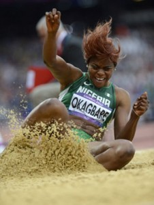 Okagbare Having a Difficult Year in London.