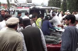 PAKISTAN-UNREST-VOTE-BOMBING