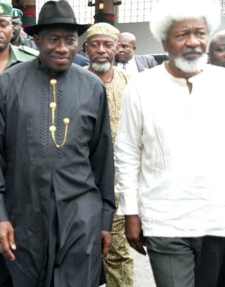 President-Goodluck-Jonathan-Professor-Wole-Soyinka