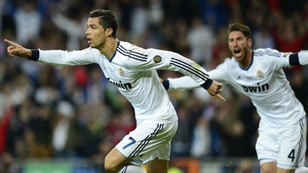 Ronaldo Put Real Ahead in the 14th Minute.