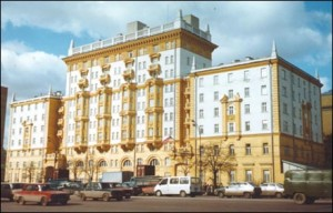 US Embassy in Moscow