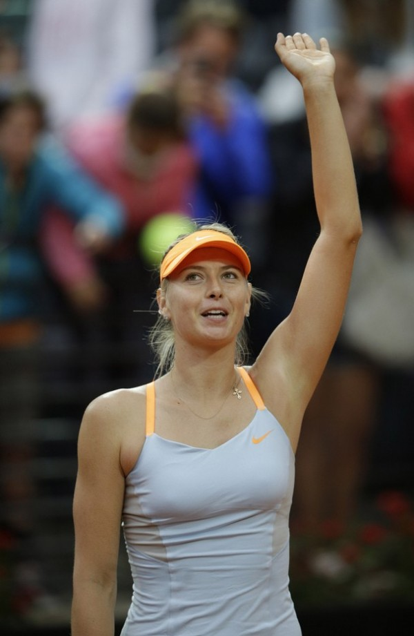 Sharapova Pulls Out of Italian Open.