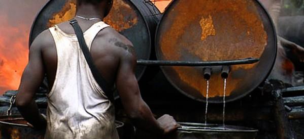 oil bunkering nigeria